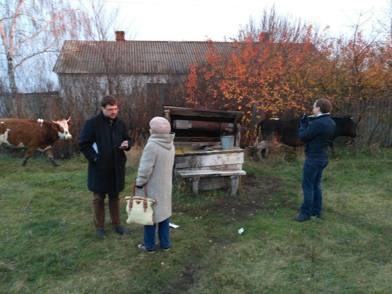 Корреспондент провэд.рф беседует с местной жительницей