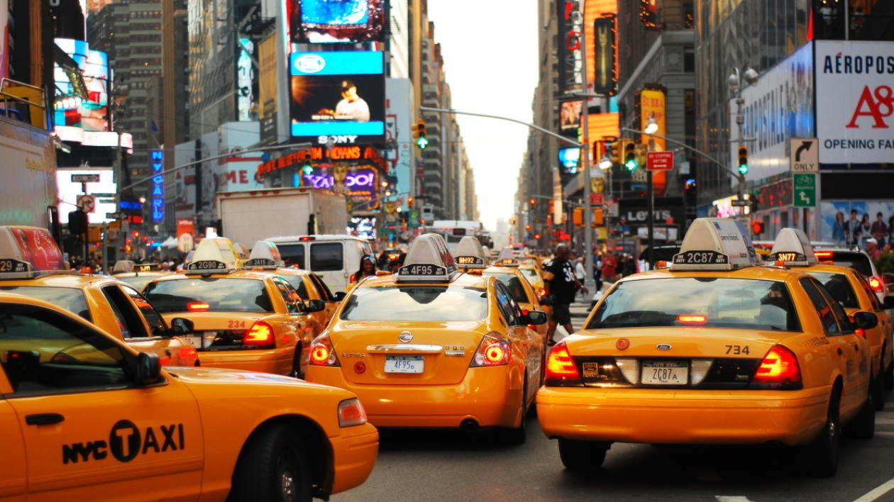 NY taksi 2