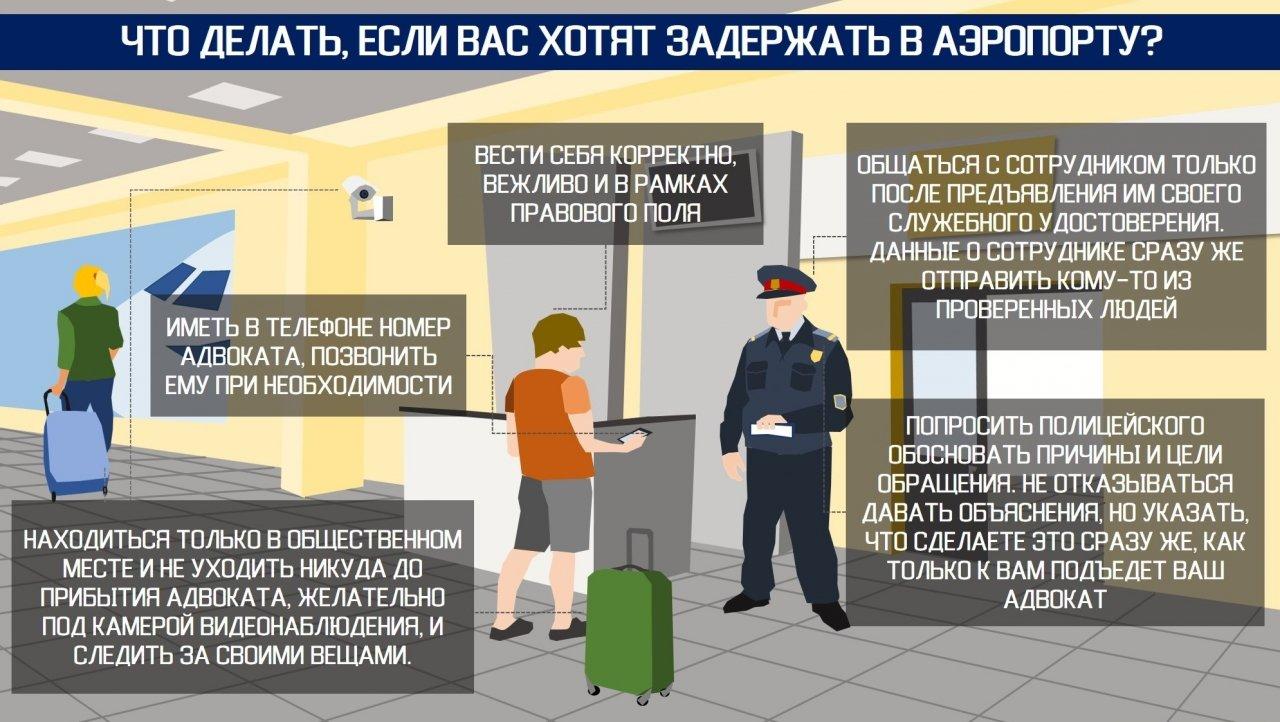 Как не быть задержанным в аэропорту – пять советов от