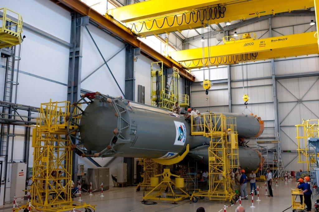 EC отказался от русских ракет «Союз»